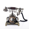 Square Victorian Engraved Design Telephone