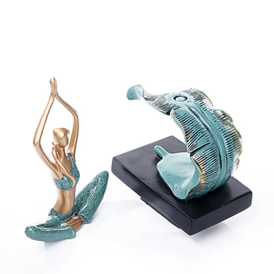 Easy Sitted Yoga Sculpture