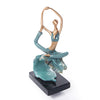 Ring Bow Pose Yoga Sculpture