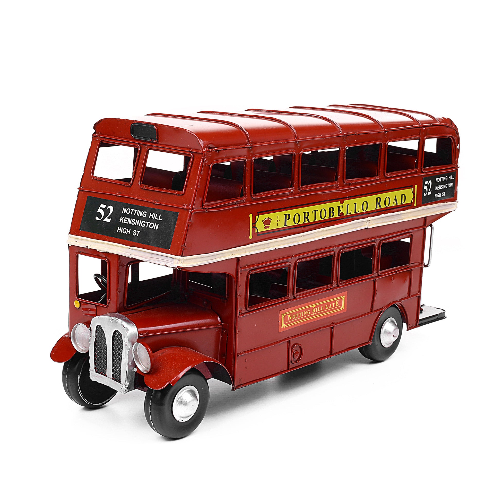 Decorative Metal Royal Design Bus