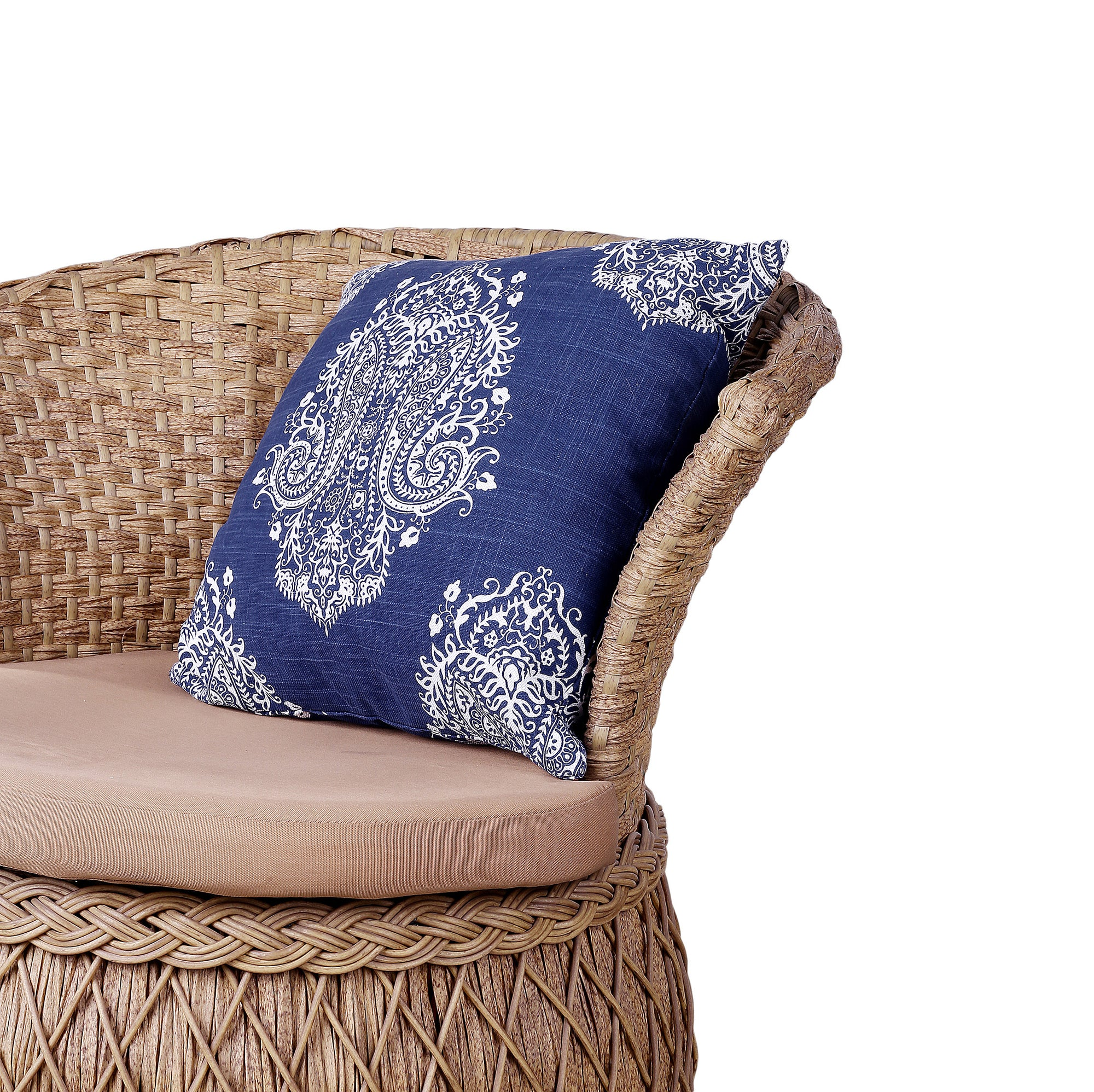 Traditional Blue Designed Cushion Cover
