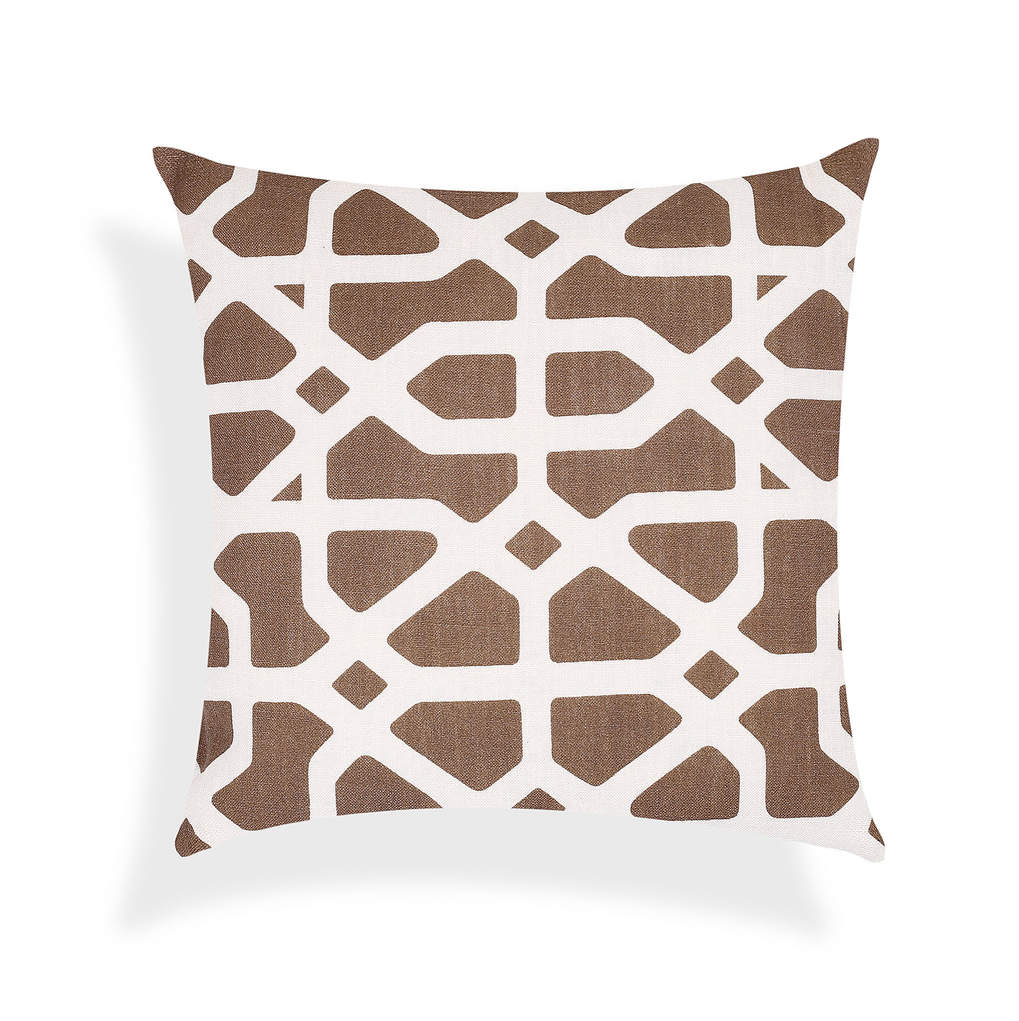 Abstract Brown Design Cushion Cover