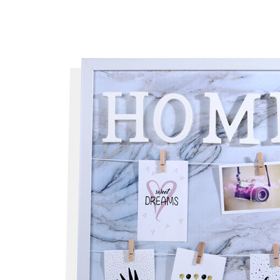 Home Memories Cluster Wall Photo Frame (White)