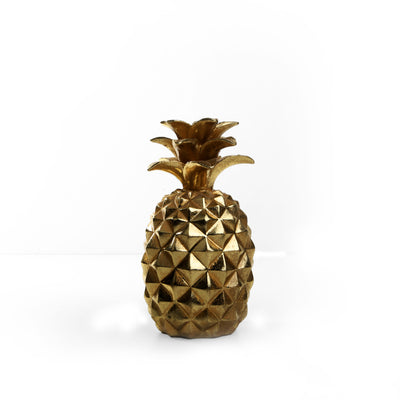 Golden Pineapples Ornaments