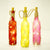 Rope Hanging Colored LED Light Bottle