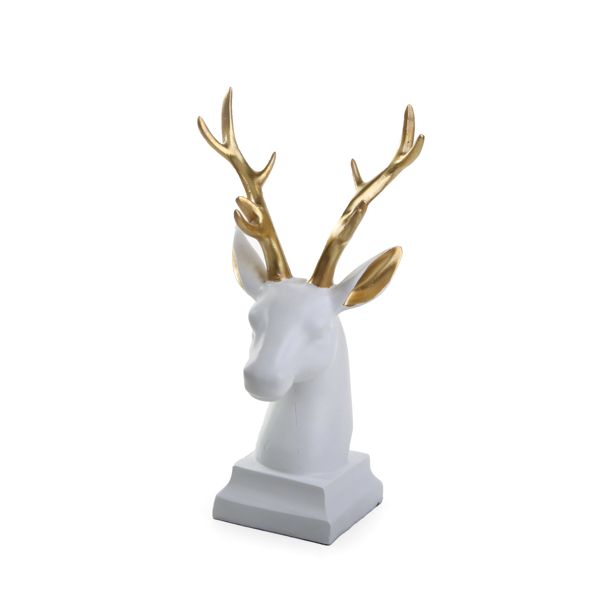 Abstract Deer Face  (White)