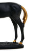 Mustang Horse Eating Grass (Black)