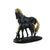 Hose with Colt Statue (Black)