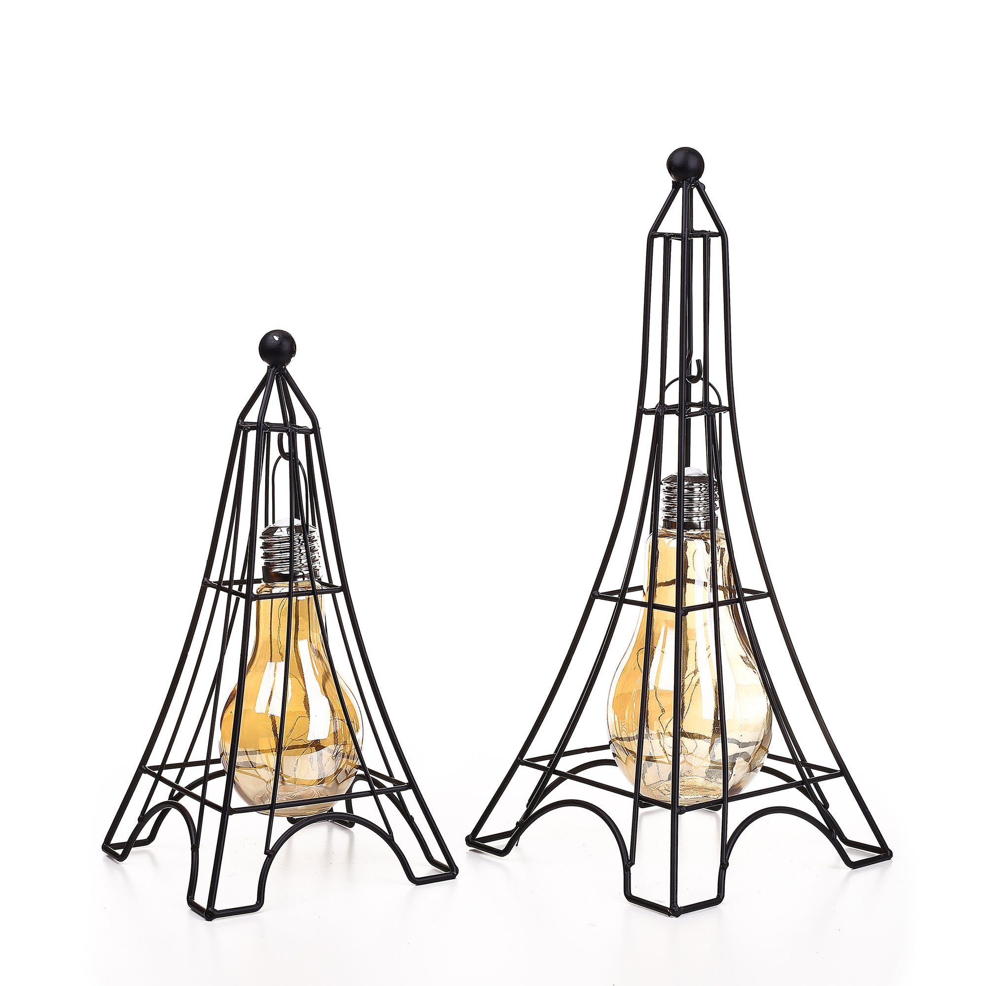Metal Tower LED Hanging Bulb
