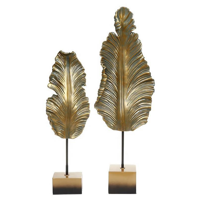 Abstract Leaf Décor (Set of 2)