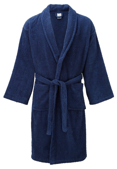 Premium Toweling Bath Robe (Blue)