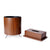 Wooden Basket with Tissue Box (Set of 2)