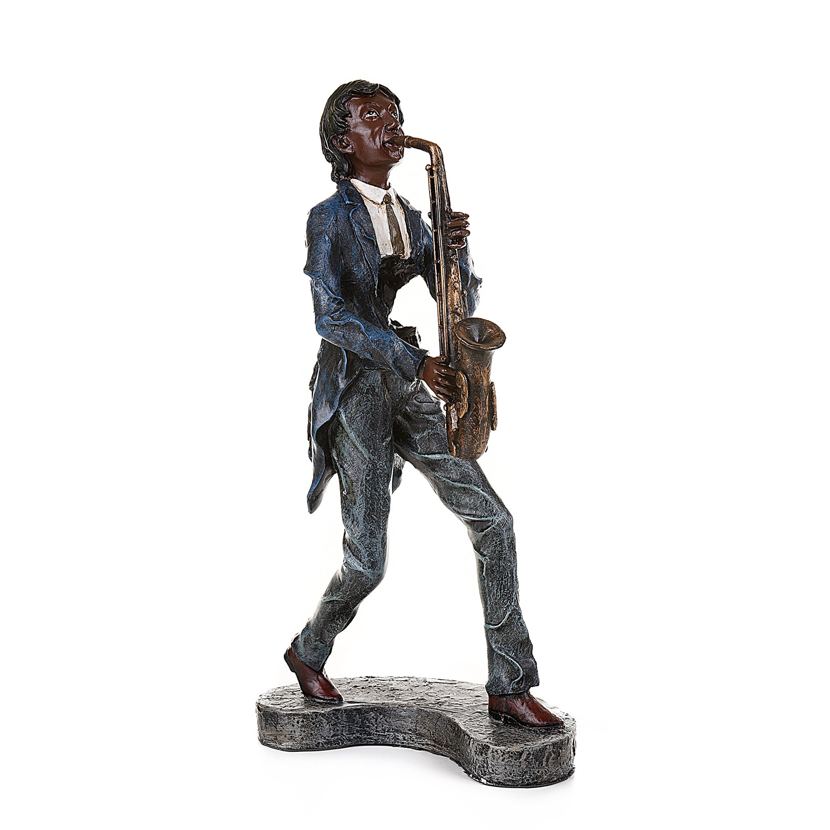 Saxophone Player Collectible Ornament
