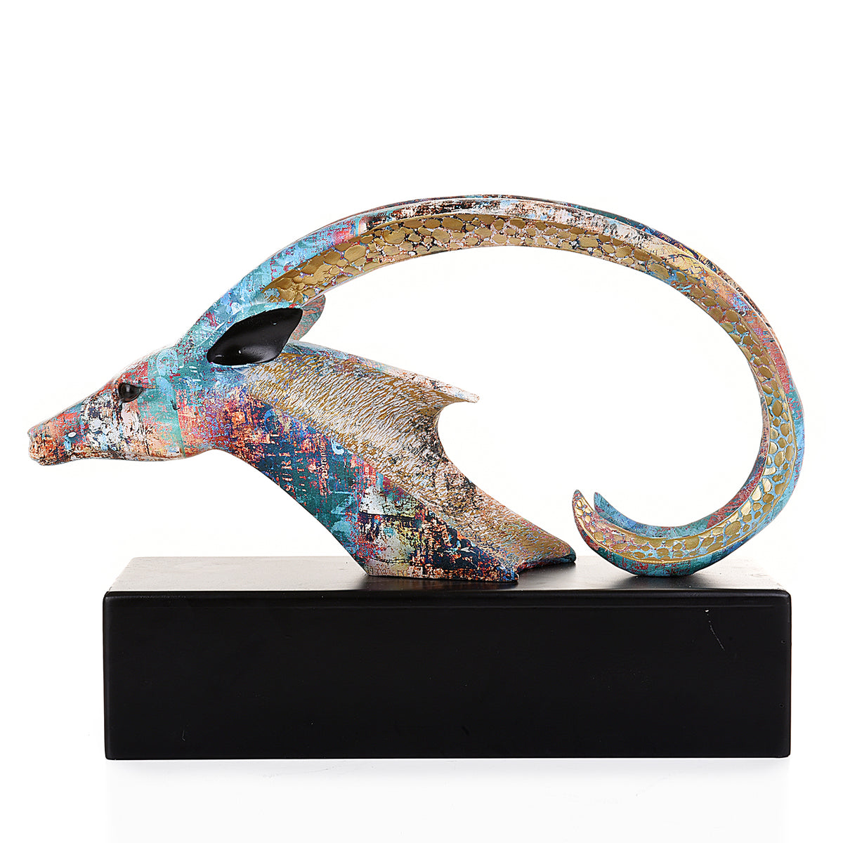 Van Howd Markhor Multi-Color Sculpture