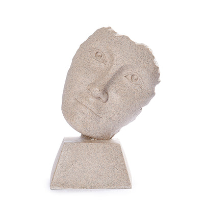 Mistral Face Sculpture