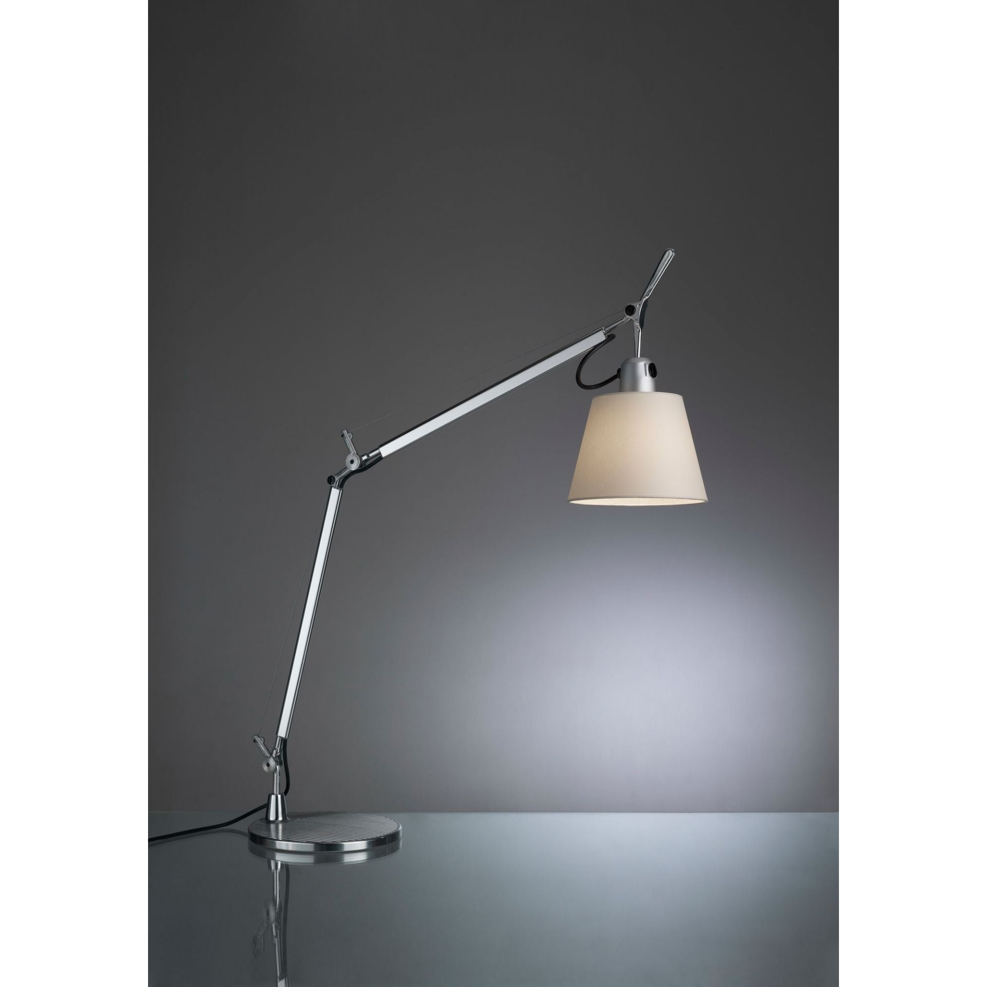 Autry Adjustable Metal Table Lamp