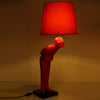 Red-Man Modern Art Lamp