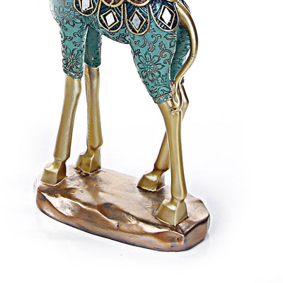 Treditional Giraffe Statue (Set of 3)