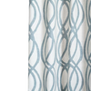 West Elm Curtain Paled Turquoise (Single Panel)