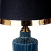 Greenish Blue Ceramic Table Lamp