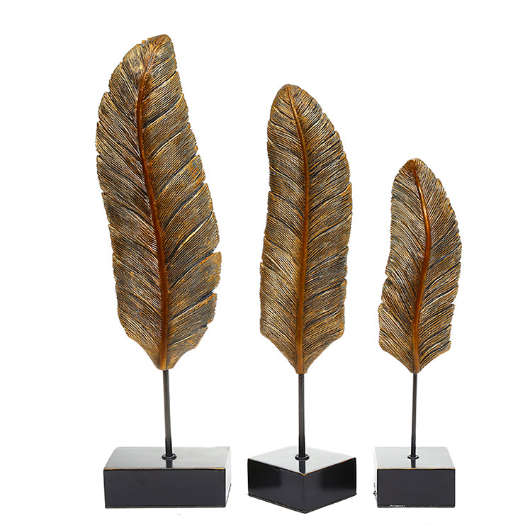 Abstract Centerpiece Leaves (Set of 3)