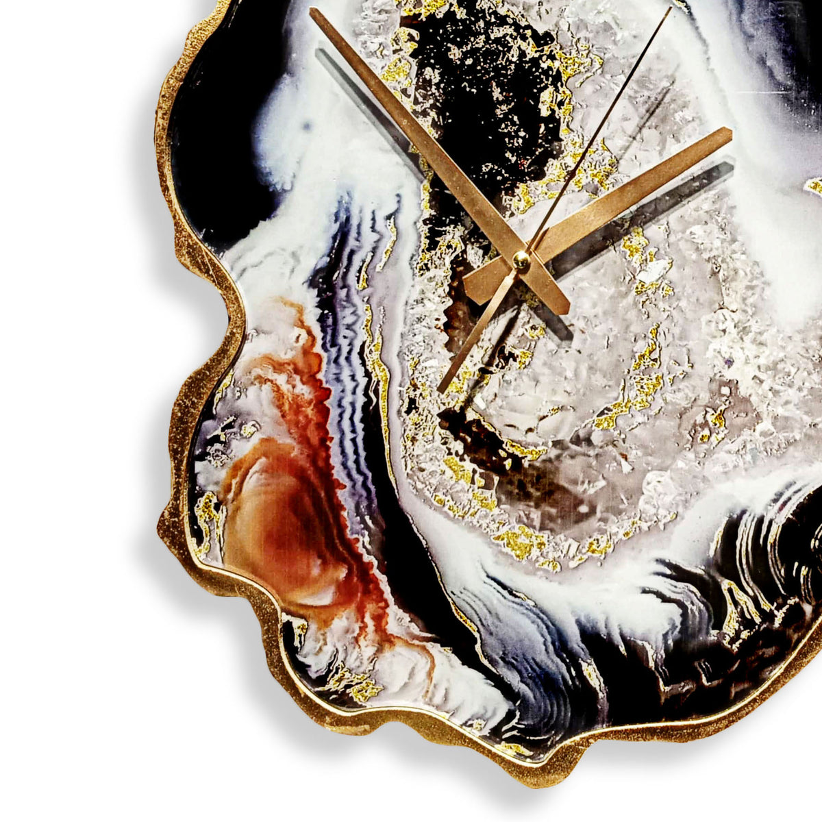 Resin Galaxy Wall Clock