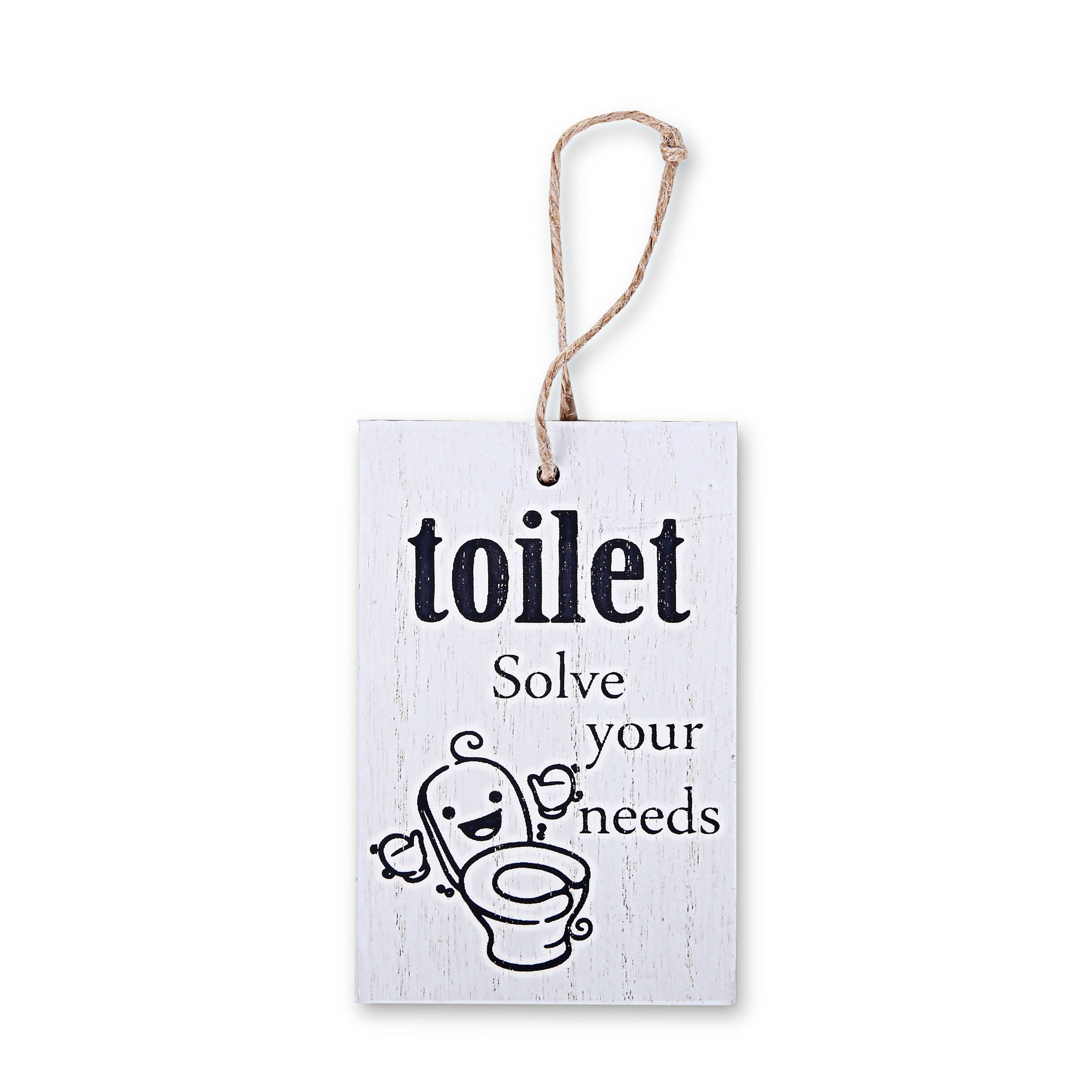 Toilet Wall Quotations (White)
