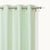 Lite Green Boxes Designed Curtain Panel