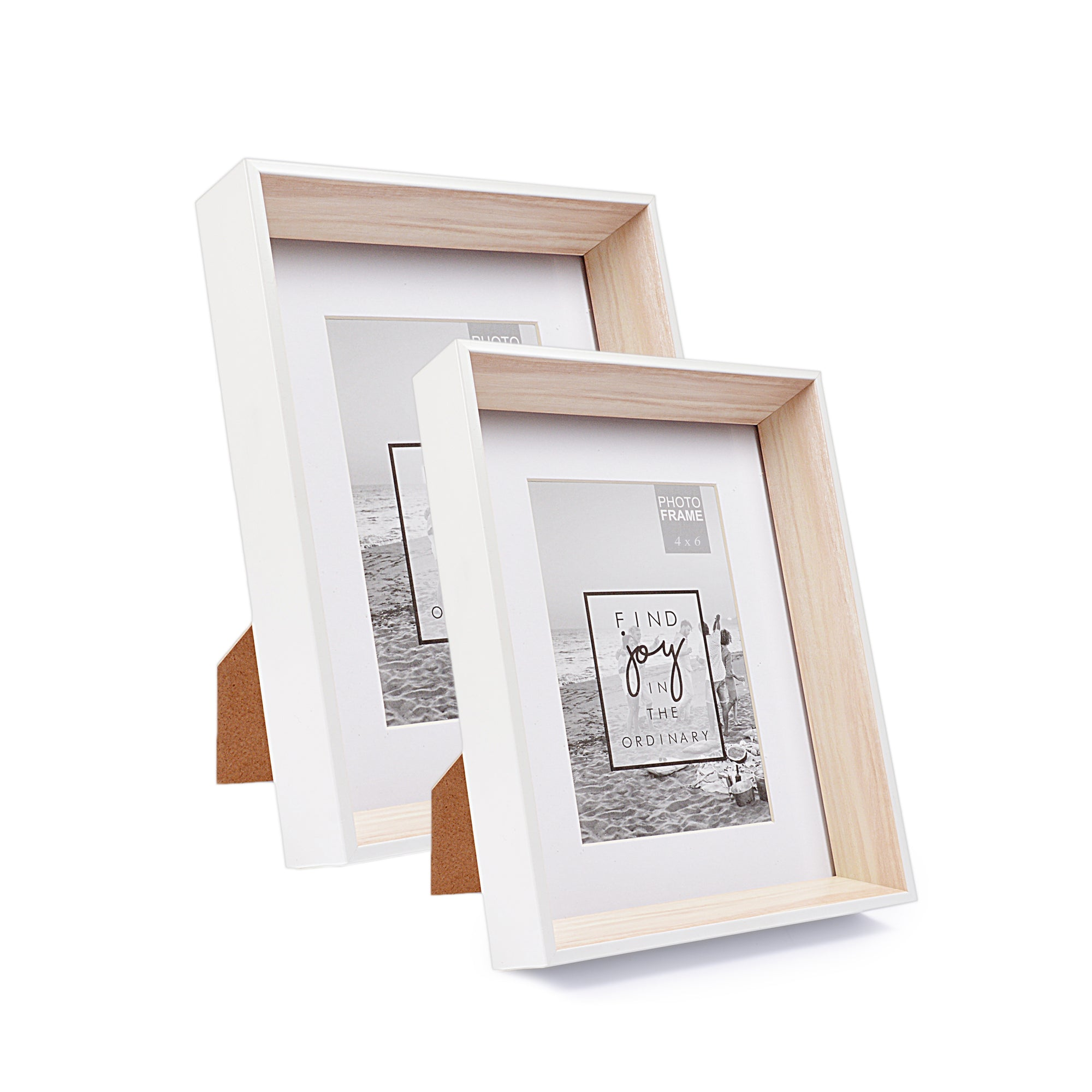 Wilko Modern Finish Photo Frame (White)