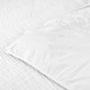 Soft Cotton Ash White Duvet Covers with Pillowcases