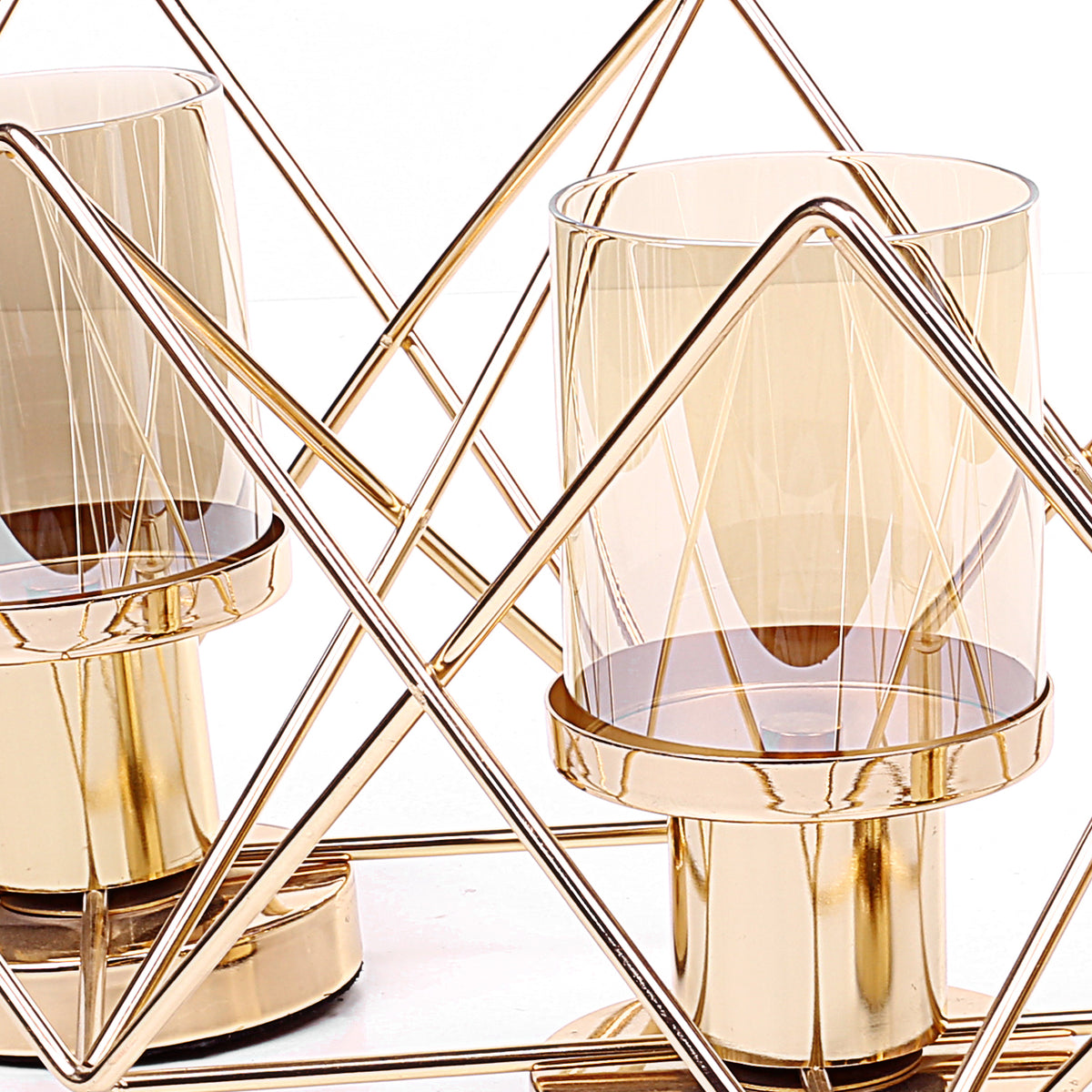 Hexa-Corners Modern Candle Holder