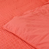 Soft Cotton Red Duvet Covers with Pillowcases