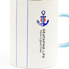 Blue Suffering Life Ceramic Mug With Lid & Spoon