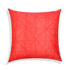 Triangle Design Red Style Cushion Cover