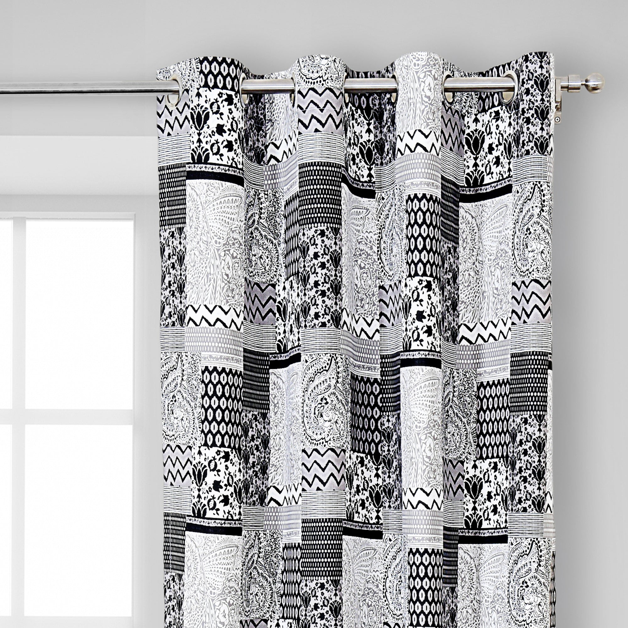 Multi Design Curtain Pair