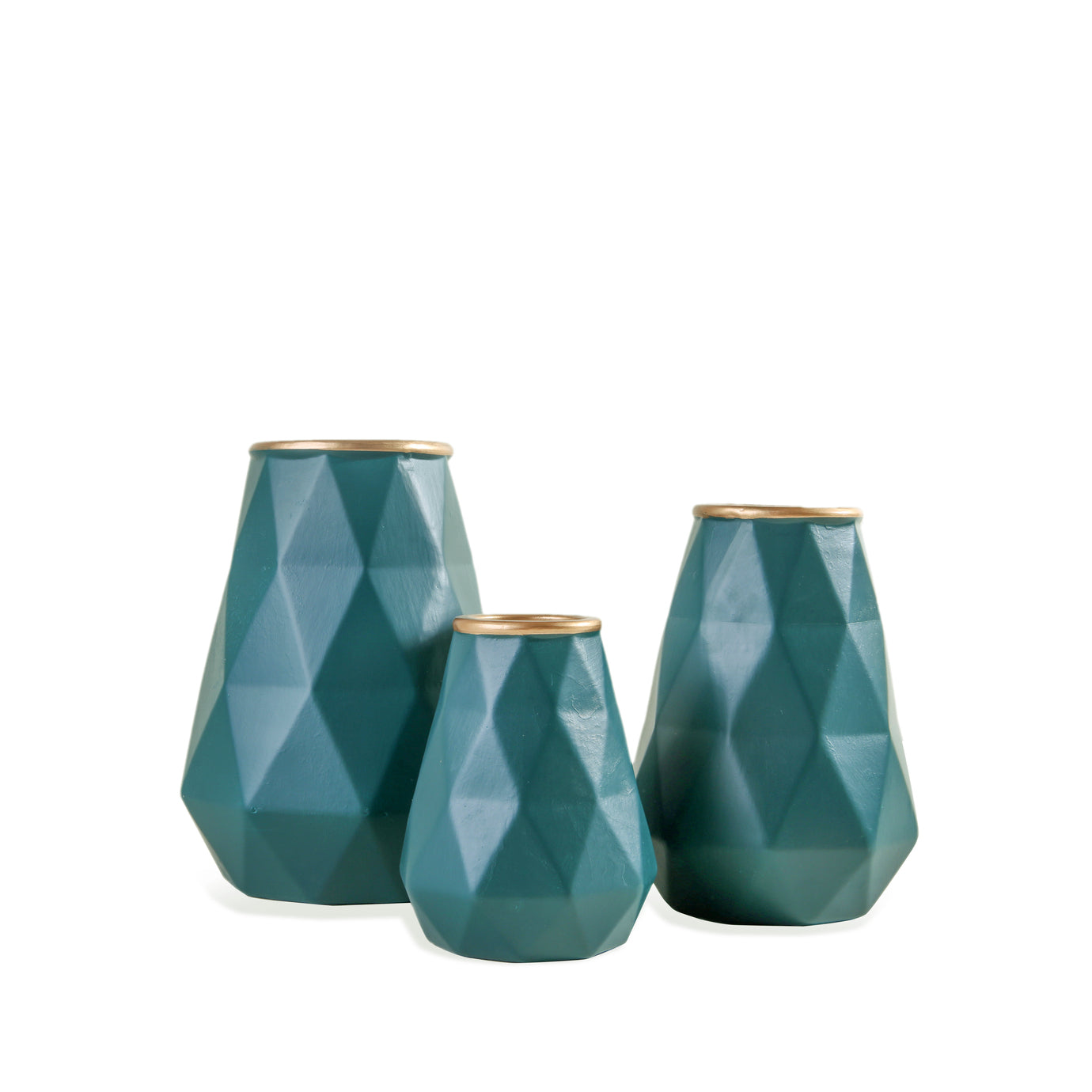 Abstract Vases (Green)