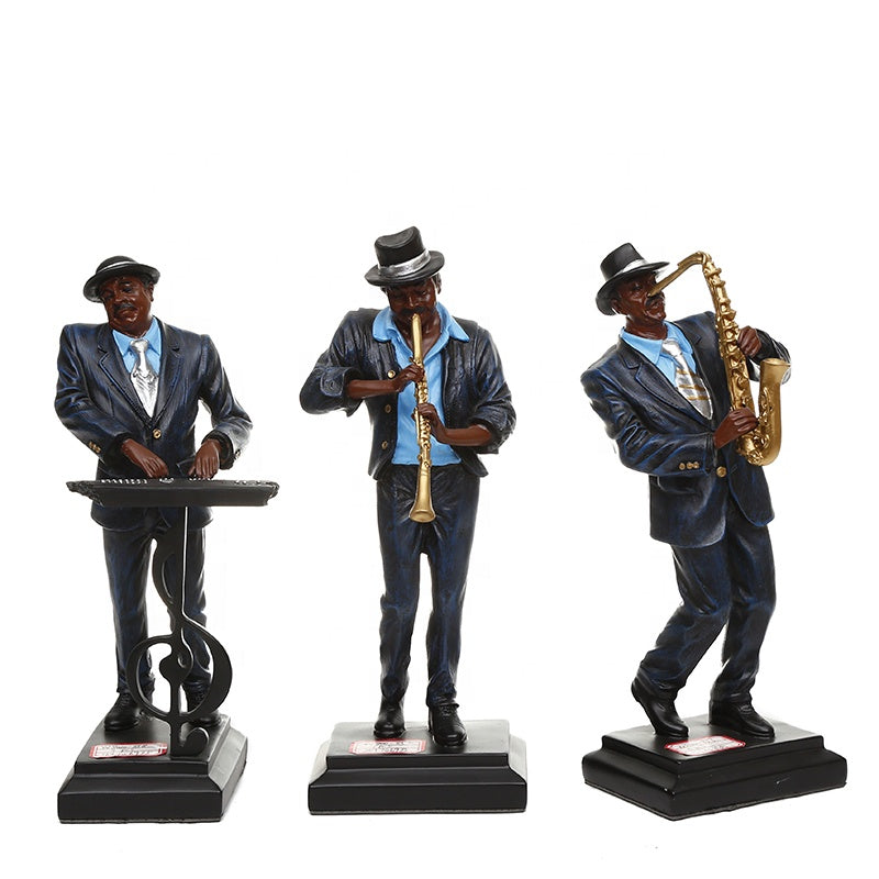 Music Player Collectible Ornament (Set of 3)
