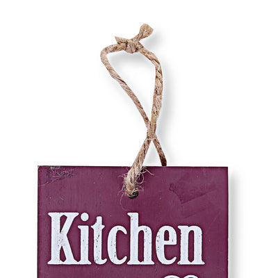 Kitchen Cook Wall Quotations (Red)
