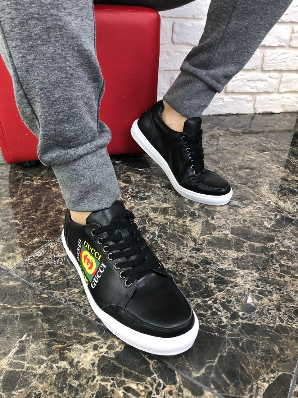 02e835ca619 Gucci Men Sneakers (Different Colors) – Look at my bags