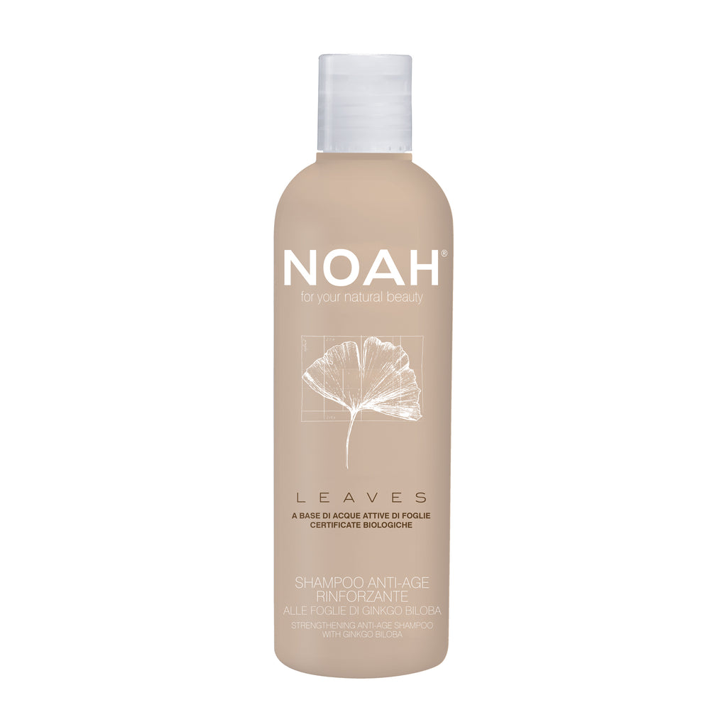 NOAH LEAVES Shampoo strengthening anti-age with ginkgo biloba leaves-VAHVISTAVA SHAMPOO