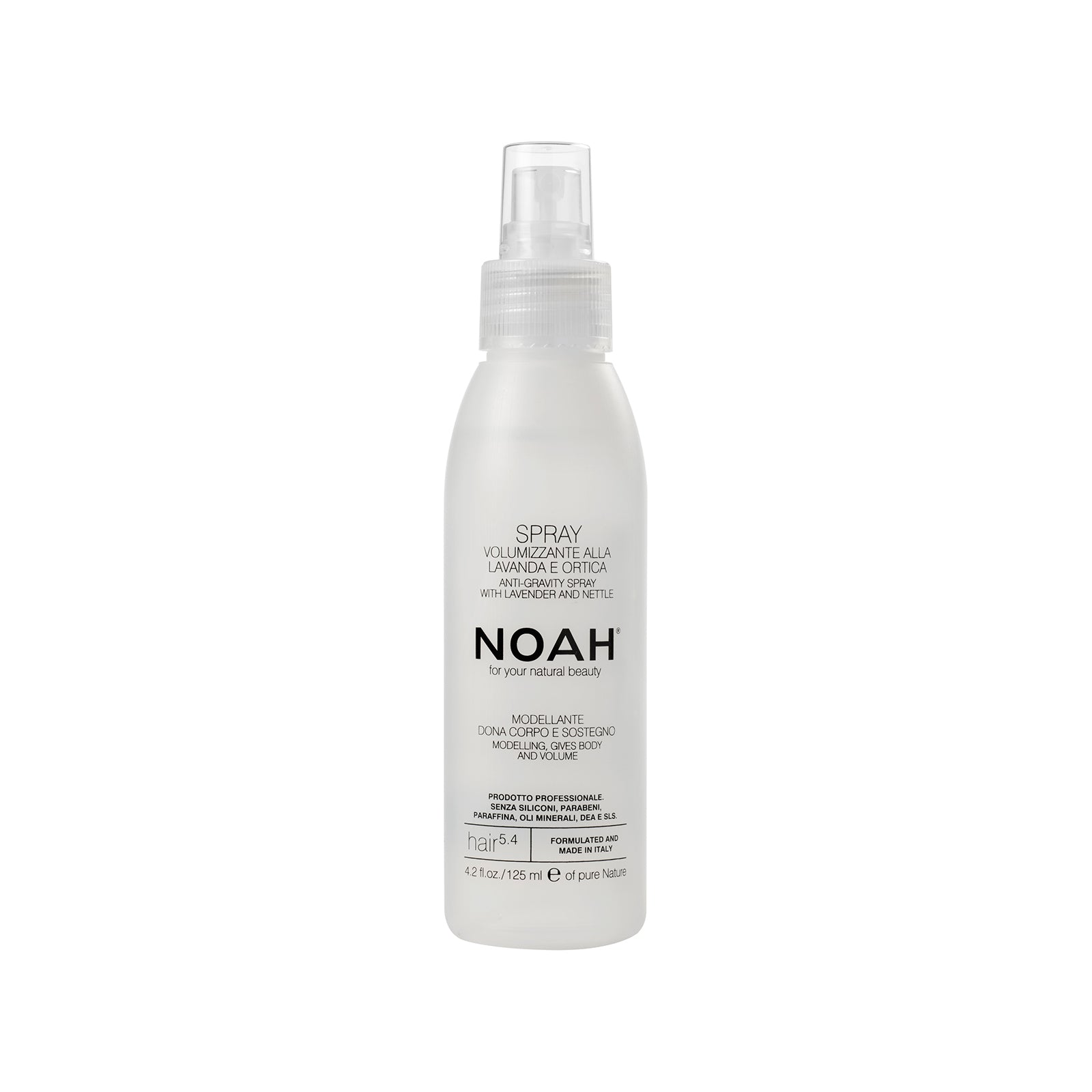 NOAH Volumizing spray modeling, gives body and volume to the hair- TUUHEUTTAVA SUIHKE