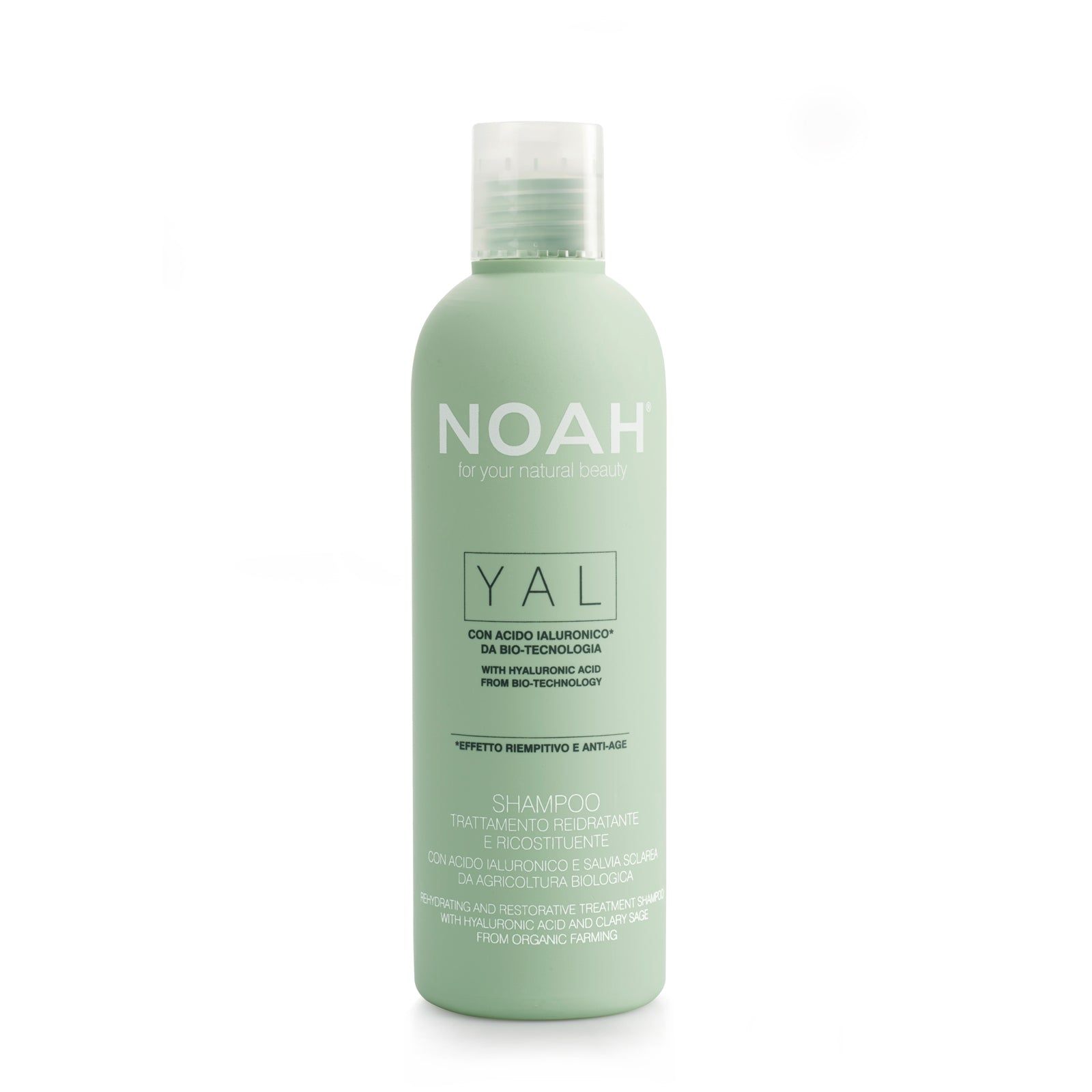 NOAH YAL Re-Hydrating and Restorative Shampoo-KOSTEUTTAVA SHAMPOO