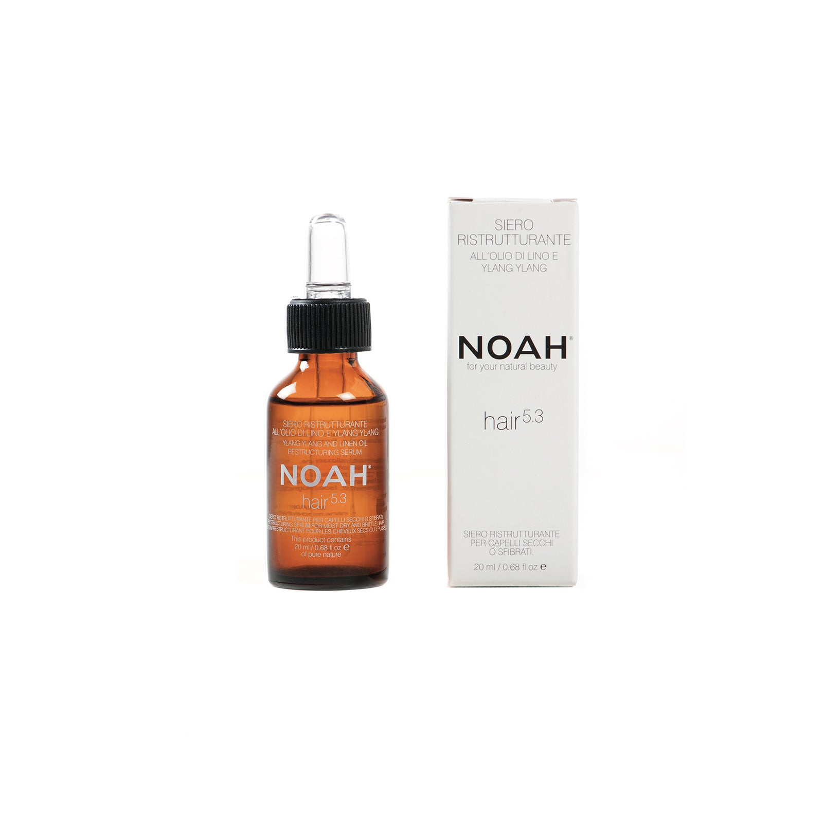 NOAH Restructuring serum for most dry hair, prevents split ends- SEERUMI KUIVILLE HIUKSILLE
