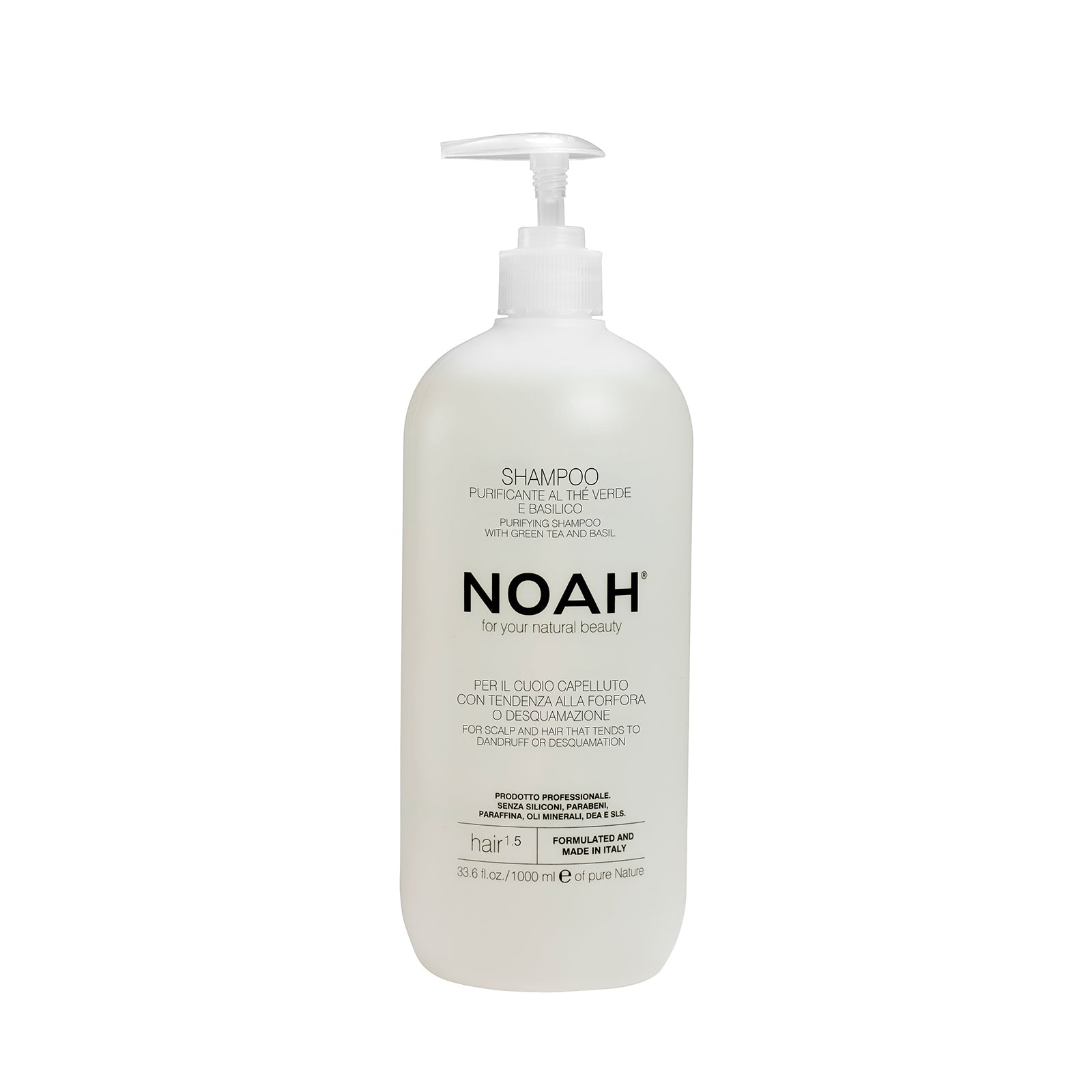 NOAH Purifying Shampoo for hair that tends to dandruff- SYVÄPUHDISTAVA SHAMPOO