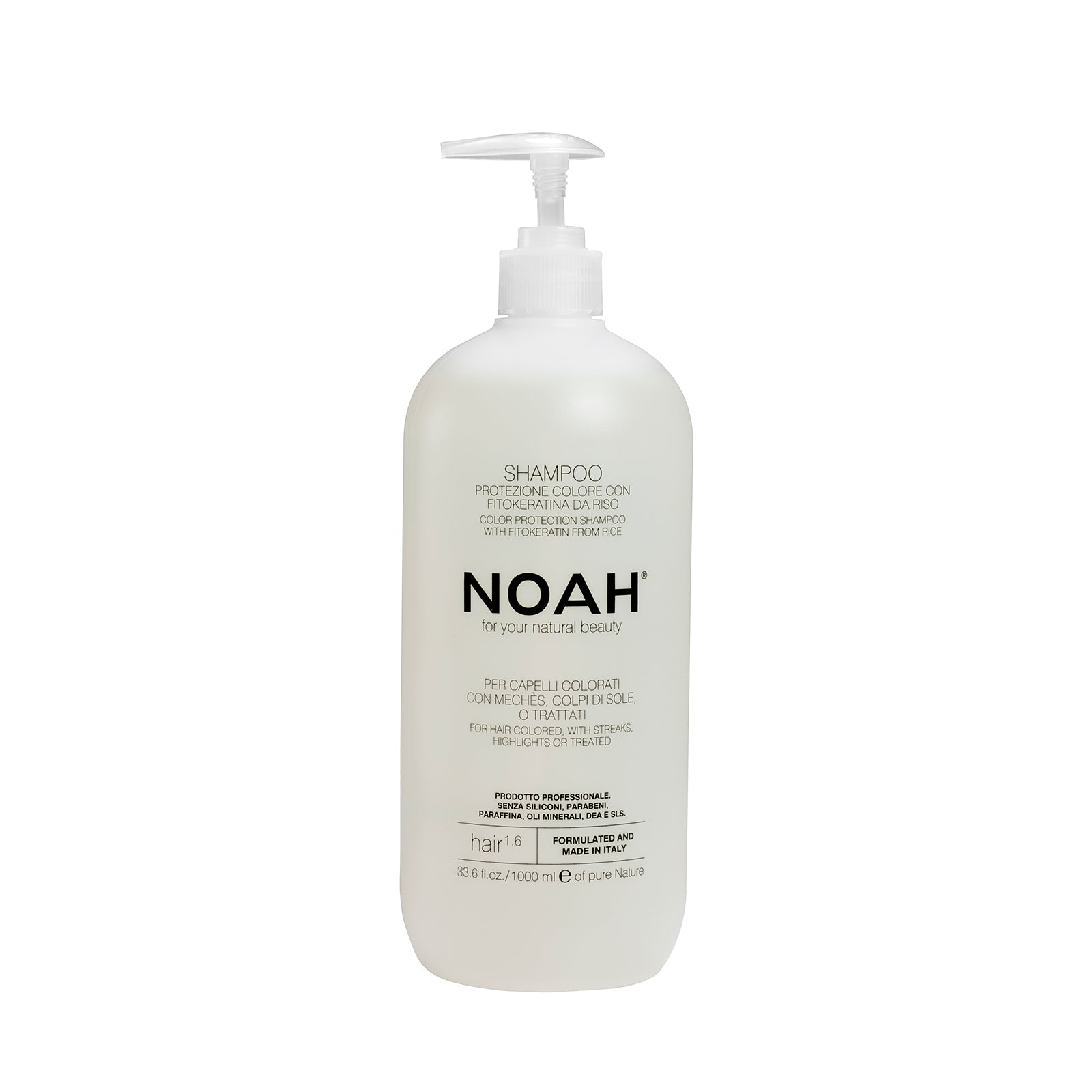 NOAH Natural Shampoo for coloured hair with streaks, highlights or treated- VÄRJÄTYILLE HIUKSILLE