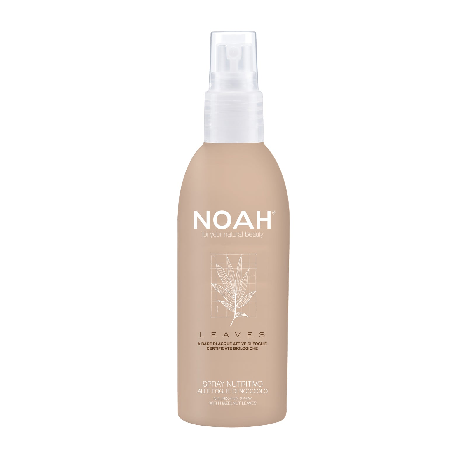 NOAH LEAVES Spray nourishing with hazelnut -SUORISTAVA SUIHKE