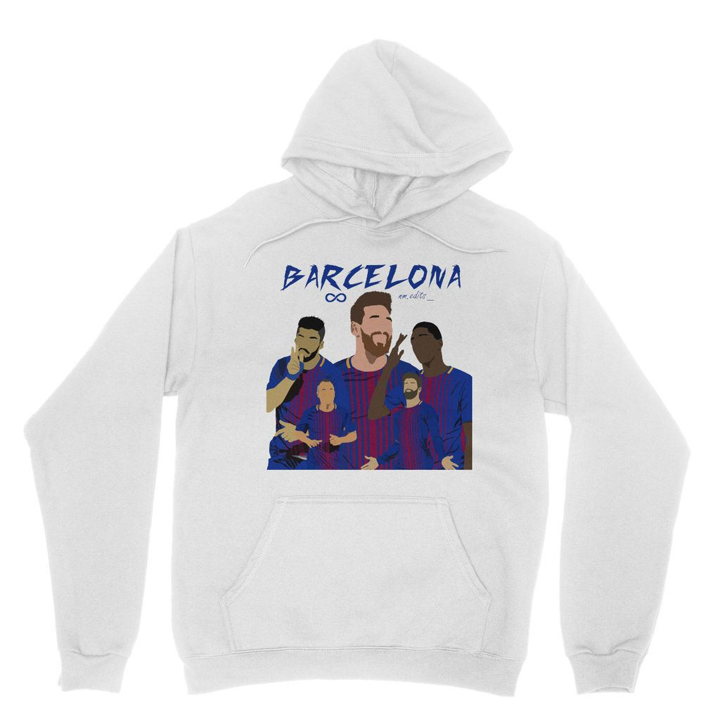 Barcelona Heavy Blend Hooded Sweatshirt