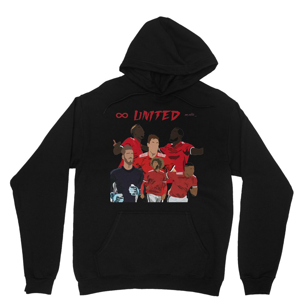 Man Utd Heavy Blend Hooded Sweatshirt