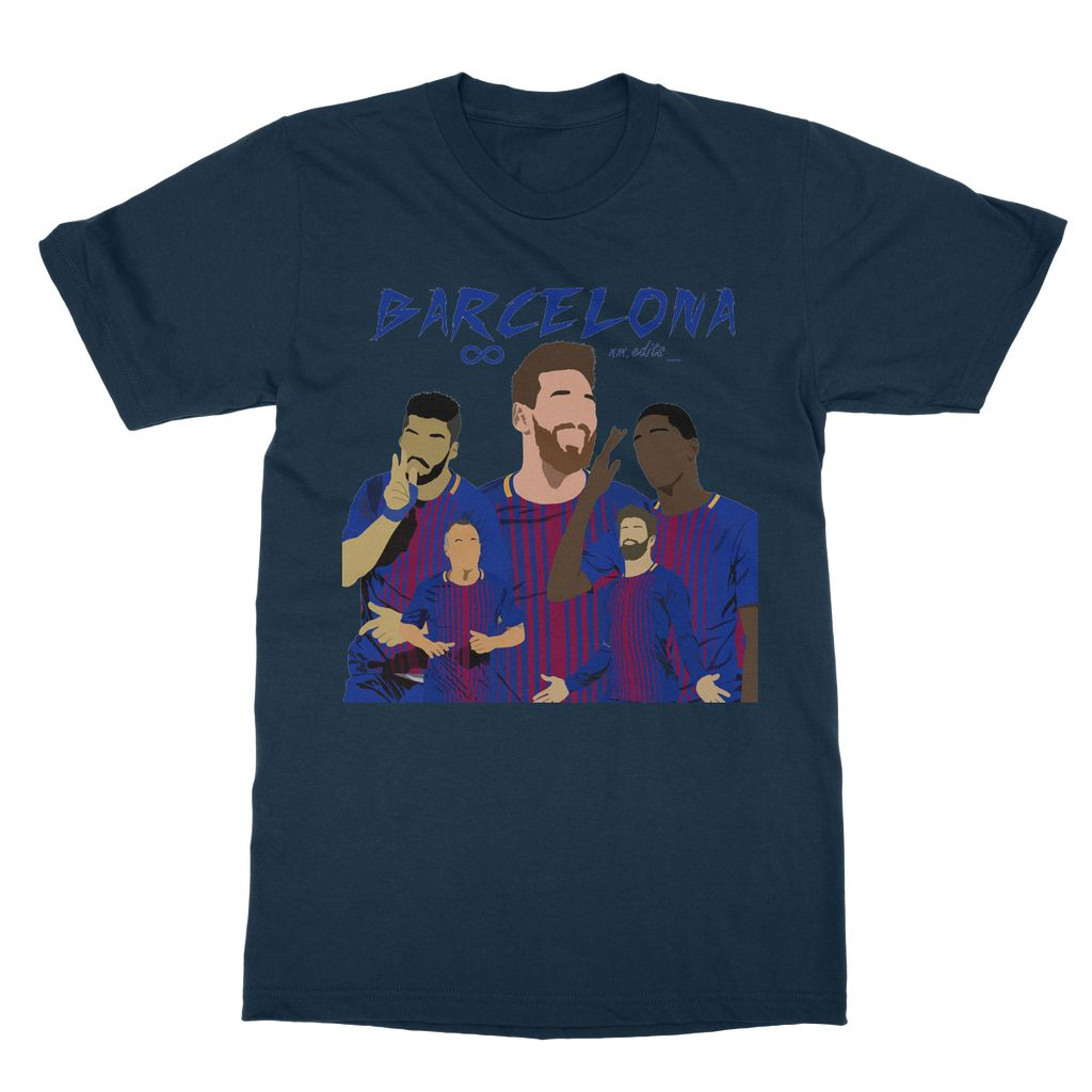 Barcelona Softstyle Ringspun T-Shirt