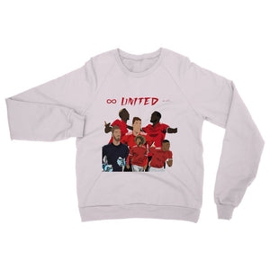 Man Utd Heavy Blend Crew Neck Sweatshirt